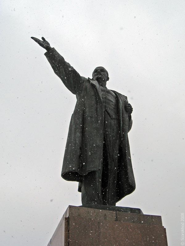 Памятник Ленину в Ступино