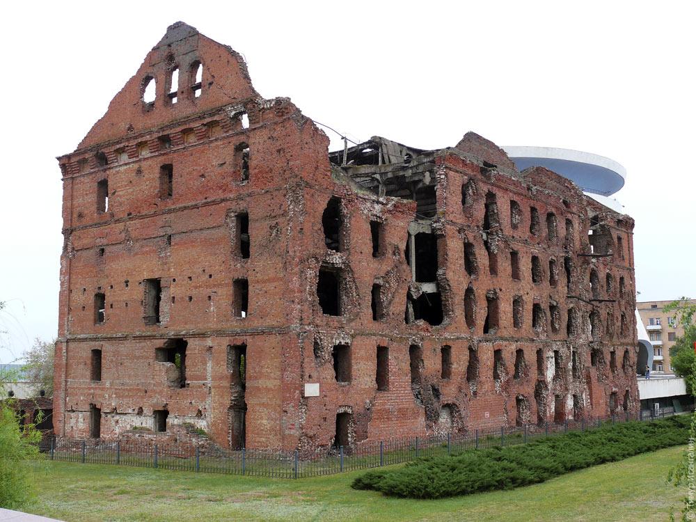 Руины мельницы Грудинина