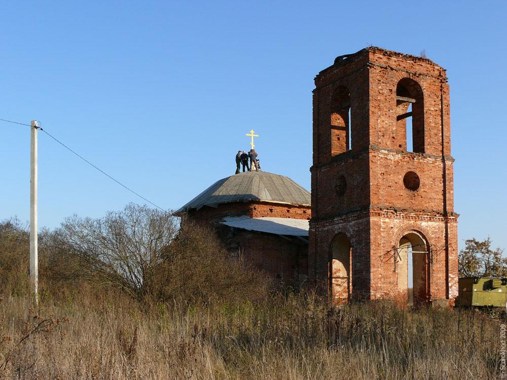 Храм архангела Михаила в Шатово