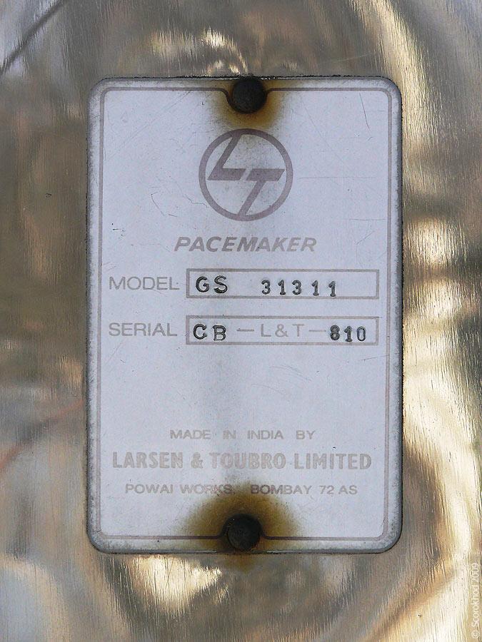 Larsen & Toubro Pacemaker GS 31311
