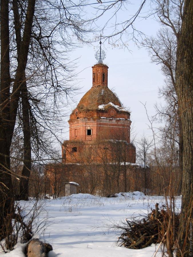 Церковь Вознесения Господня в селе Вознесенье Тарусского района