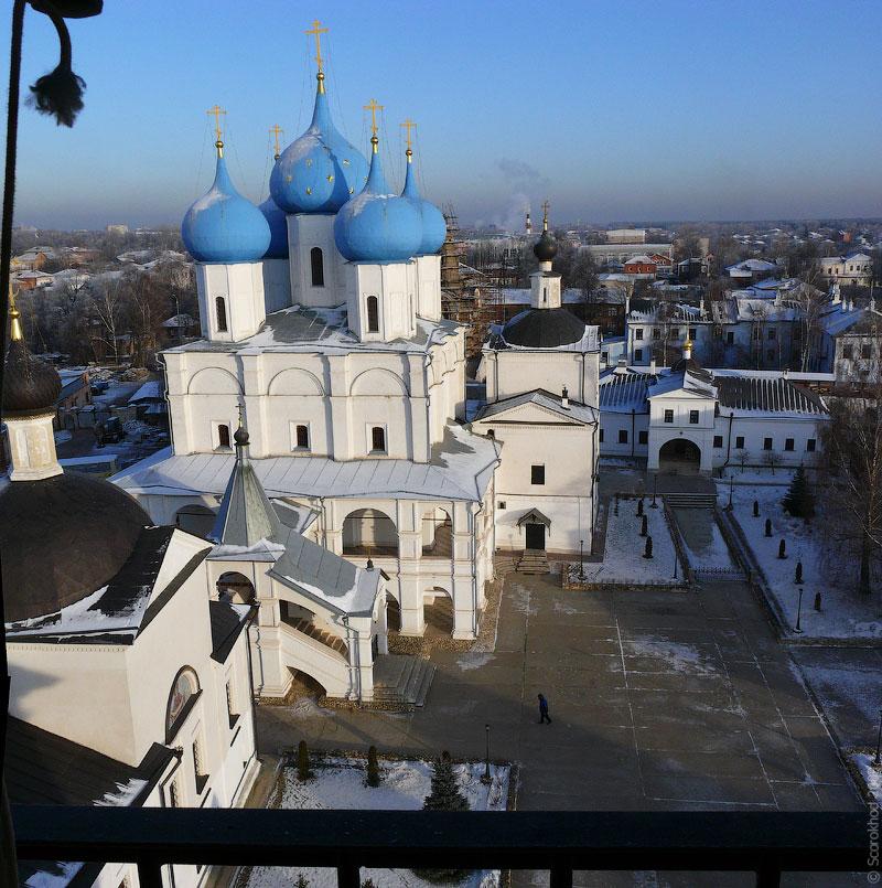 Серпухов. Зачатьевский собор Высоцкого монастыря