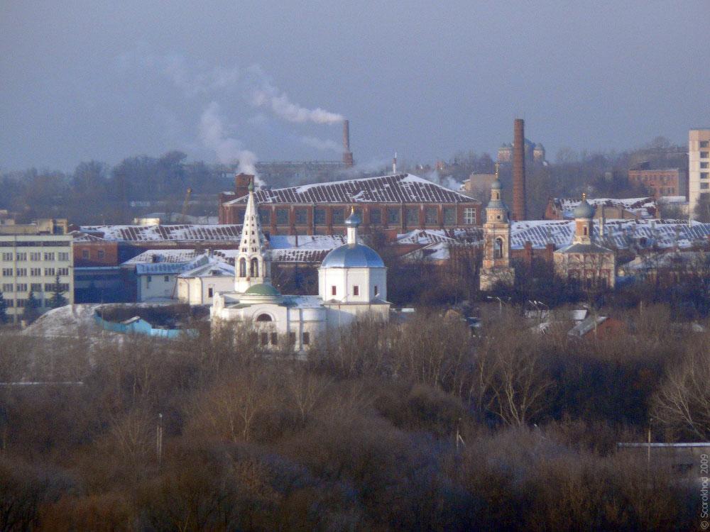 Серпухов. Троицкий собор, церковь Успения Пресвятой Богородицы