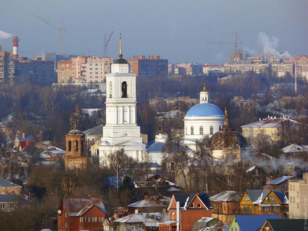 Серпухов. Собор Николы Белого, Распятская церковь