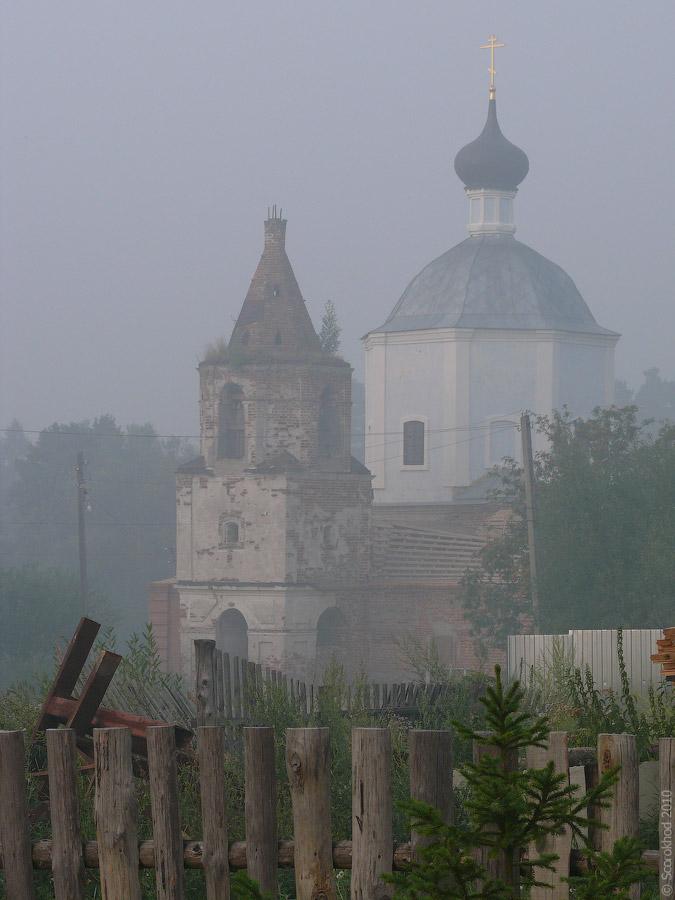 Церковь Казанской иконы Божией матери в Новинках