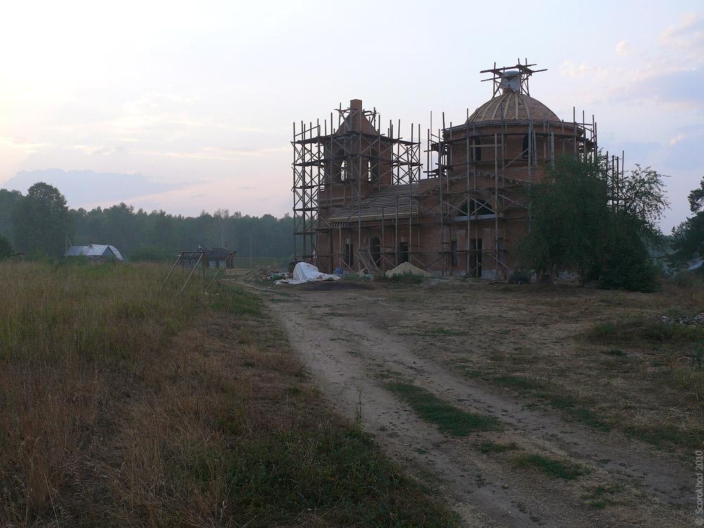 Церковь Бориса и Глеба в Енино